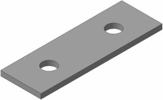 Молотки для дробилки ДМ-10 (105х42х5)