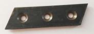 Нож косой левый Т12.0028-01 на резчик рулонов ИРК-01.1 и 01.1