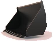 Ковш КШ-0.16 фронтальный 0,6 м3
